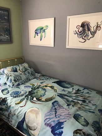 Hyannis Cape Cod vacation rental - Bedroom set up for youngsters - Sea Creatures and Harry Potter