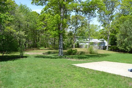 West Yarmouth Cape Cod vacation rental - Spacious back yard with patio & grill