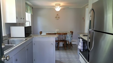 West Yarmouth Cape Cod vacation rental - Cute kitchen with eat-in dining