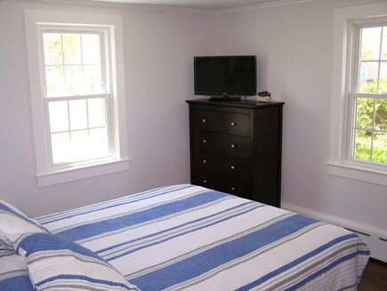 West Yarmouth Cape Cod vacation rental - Master bedroom with TV