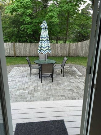South Yarmouth Cape Cod vacation rental - Newly installed beautiful outside patio area