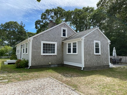 South Yarmouth Cape Cod vacation rental - Private backyard with outdoor shower
