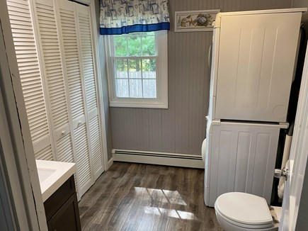 South Yarmouth Cape Cod vacation rental - 1/2 Bath off of MB with Washer and Dryer