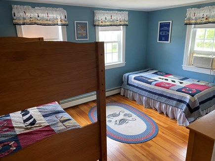 South Yarmouth Cape Cod vacation rental - Second Bedroom with twin and bunk beds
