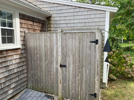 South Yarmouth Cape Cod vacation rental - Private Outdoor Shower - always a favorite!!