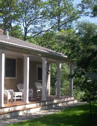 Brewster Cape Cod vacation rental - Front porch and entrance.