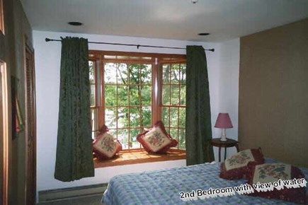 Brewster Cape Cod vacation rental - Second bedroom currently with one bunk bed and one twin,