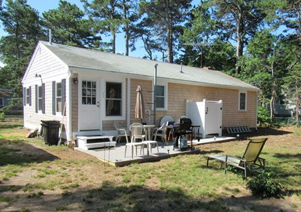 South Dennis Cape Cod vacation rental - Rear view