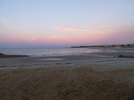 South Dennis Cape Cod vacation rental - Corporation Beach at Sunset, 4 miles away.