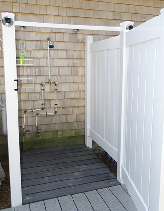 South Dennis Cape Cod vacation rental - Outdoor shower, great after a beach day!