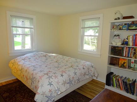 South Dennis Cape Cod vacation rental - Queen bedroom with flat screen TV