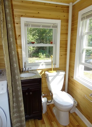 South Dennis Cape Cod vacation rental - Half bath area, off sun room