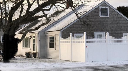 Wellfleet Cape Cod vacation rental - We installed a side courtyard in 2017 for privacy.