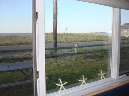 Wellfleet Cape Cod vacation rental - Gorgeous view from Livingroom window!