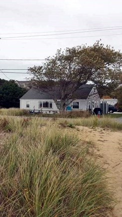 Wellfleet Cape Cod vacation rental - View of Cottage from the beach