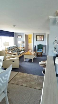 Wellfleet Cape Cod vacation rental - Living room/Dining room