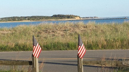 Wellfleet Cape Cod vacation rental - Picture taken from the front of the house.