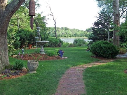 Dennisport Cape Cod vacation rental - Old stone walls & birch trees are your neighbors