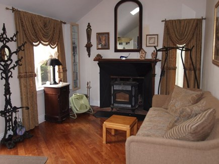 Dennisport Cape Cod vacation rental - Living room ALSO has sleep futon that can stay open for use