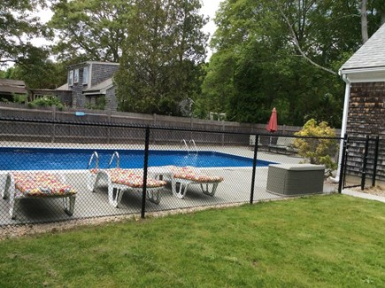 Falmouth, Maravista Cape Cod vacation rental - Pool and back yard