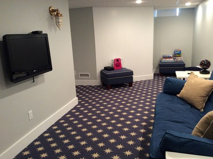 Falmouth Heights Cape Cod vacation rental - Partially Finished Basement with futon