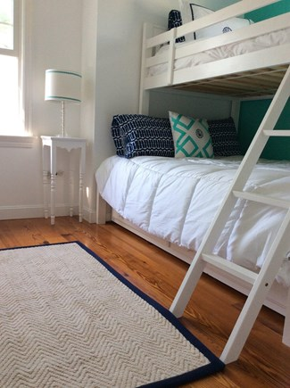 Falmouth Heights Cape Cod vacation rental - Twin over full bunk with additional twin trundle