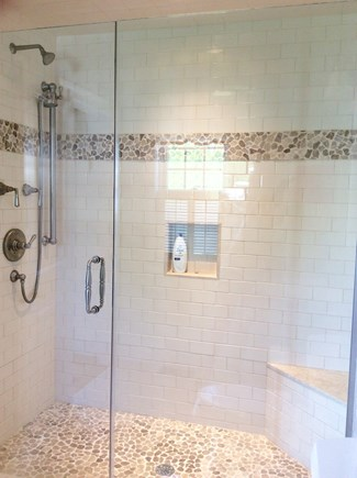 Falmouth Heights Cape Cod vacation rental - First Floor Shower