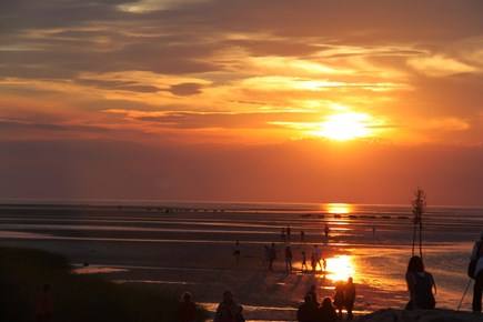 East Orleans Cape Cod vacation rental - Sunset at nearby Skaket Beach