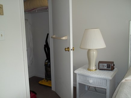 Brewster Cape Cod vacation rental - View into spacious bedroom closet