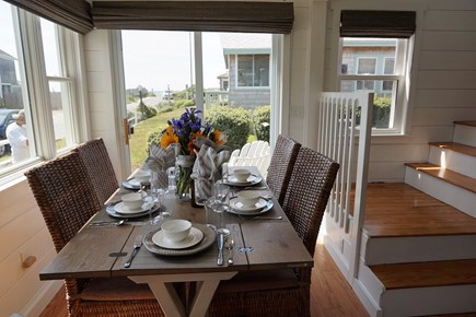 South Yarmouth Cape Cod vacation rental - Dining with a view