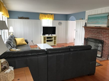 West Harwich Cape Cod vacation rental - Family Room with DVD/TV & WIFI