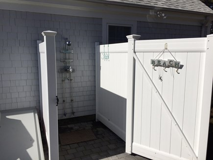 West Harwich Cape Cod vacation rental - Outdoor Shower