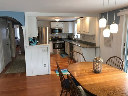 West Harwich Cape Cod vacation rental - Kitchen newly remodeled , stainless steel, granite!