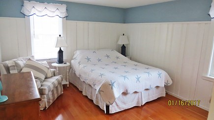 West Harwich Cape Cod vacation rental - Downstairs bedroom w Queen bed