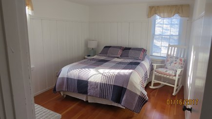West Harwich Cape Cod vacation rental - Bedroom with queen bed on 1st floor