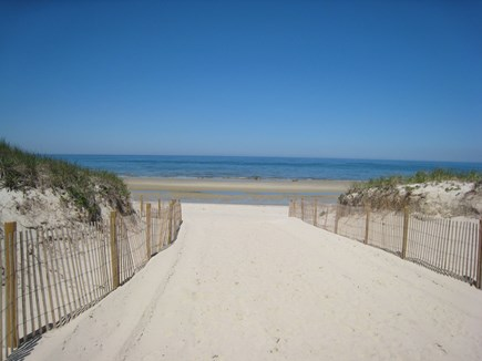 East Dennis Cape Cod vacation rental - Truly steps to this gorgeous beach