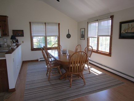East Dennis Cape Cod vacation rental - Dining area off kitchen & living