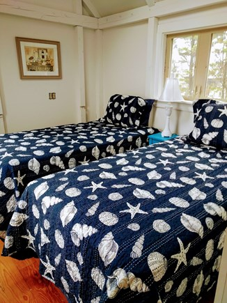 Falmouth Cape Cod vacation rental - Twin bedroom(note: one bedroom is a walk through)