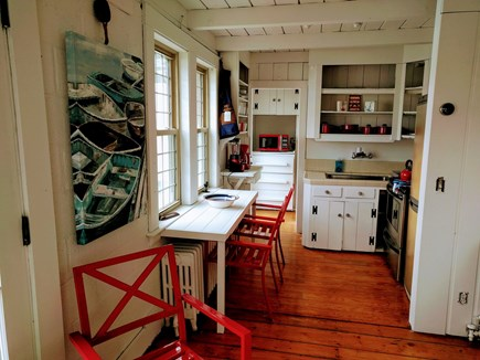 Falmouth Cape Cod vacation rental - Kitchen area