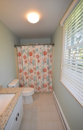 Orleans Cape Cod vacation rental - Full ensuite with stand up shower/ tub combo