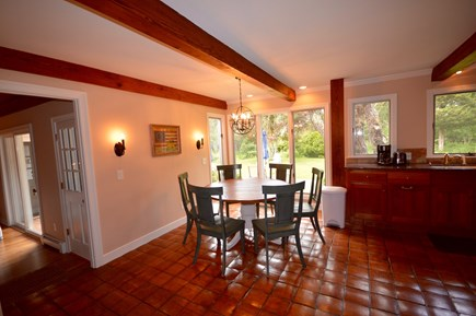 Orleans Cape Cod vacation rental - Bright dining area with views of backyard - seats 6