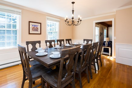Orleans Cape Cod vacation rental - Family dining room - seats 10