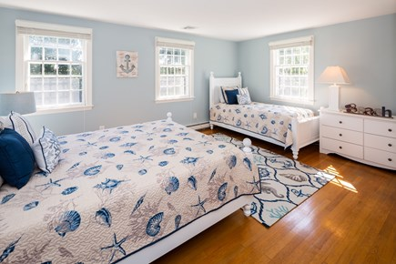 Orleans Cape Cod vacation rental - Upstairs bedroom with 1 queen and 1 twin