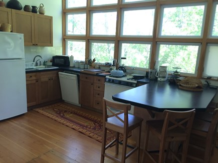 Wellfleet Cape Cod vacation rental - Start your day with a coffee and pastry at the island counter.