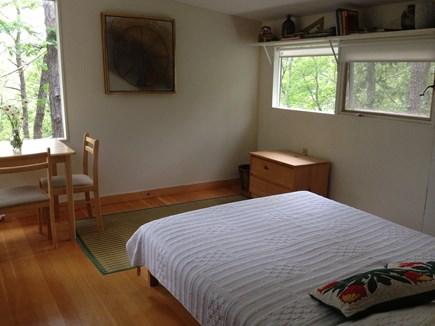 Wellfleet Cape Cod vacation rental - Master bedroom has view of pond