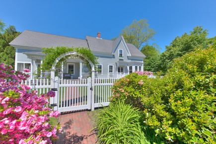 Harwich Port Cape Cod vacation rental - Entrance from Driveway (has basketball hoop, parking for 6+ cars)