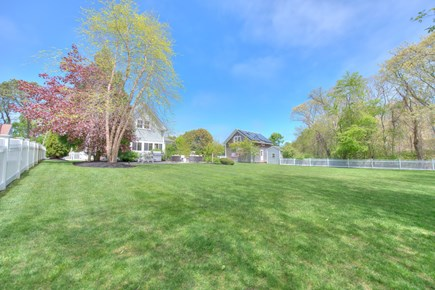 Harwich Port Cape Cod vacation rental - Large back yard