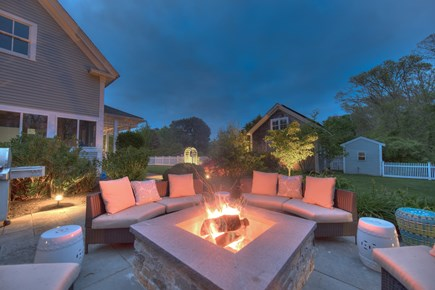 Harwich Port Cape Cod vacation rental - Fire pit