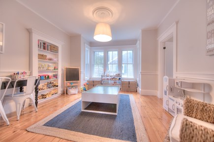 Harwich Port Cape Cod vacation rental - Playroom off of kitchen