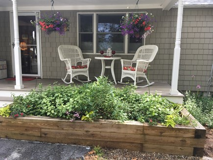 Harwich Port Cape Cod vacation rental - Front porch